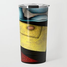 Geometric Sonification Travel Mug