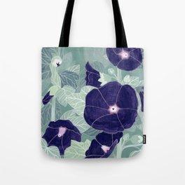 Dark florals Tote Bag