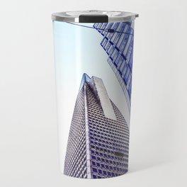 pyramid building and modern building at San Francisco, USA Travel Mug
