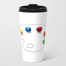 Artist's chocolate Metal Travel Mug