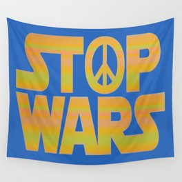 Stop Wars Peace Poster Wall Tapestry