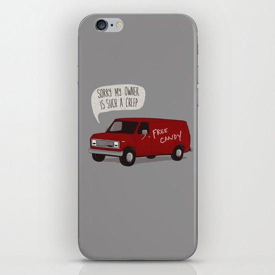 Creeper Van iPhone & iPod Skin