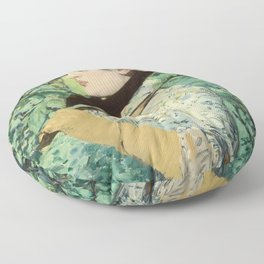 Manet's Jeanne Floor Pillow