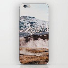 Iceland Geysir iPhone Skin