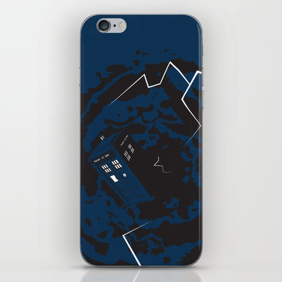 Tardis  - Doctor Who  iPhone & iPod Skin