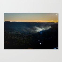 Smoky Hills Canvas Print