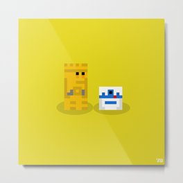 Not The Droids You're Looking For?... Metal Print
