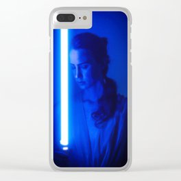 Rey Cosplay (Dark Poster 1) Clear iPhone Case