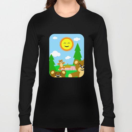 Teddy Bear Picnic Long Sleeve T-shirt