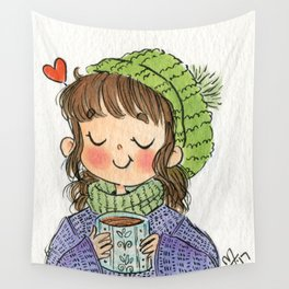 Coffee Lover Wall Tapestry
