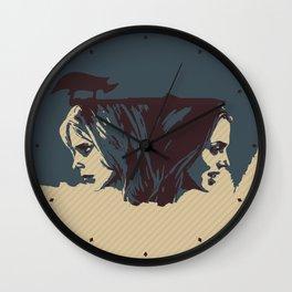 Buffy & Faith Wall Clock