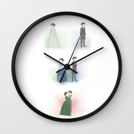 Mr. Thornton and Margaret Wall Clock