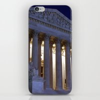 supreme iPhone & iPod Skins featuring Supreme court by Dr. Tom Osborne