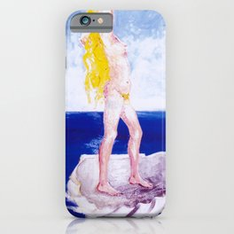 The Birth of Aphrodite            by Kay Lipton iPhone Case