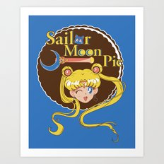 Moon Pie Art Print