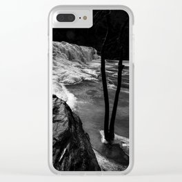 Icefall Clear iPhone Case