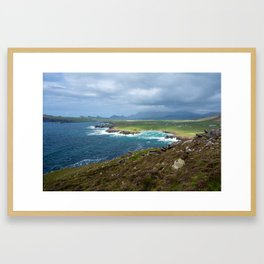 Clogherhead - Ireland - Irish Coast - Landscape Photography - Drawn Voyage Framed Art Print
