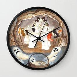 Noche de brujas Wall Clock