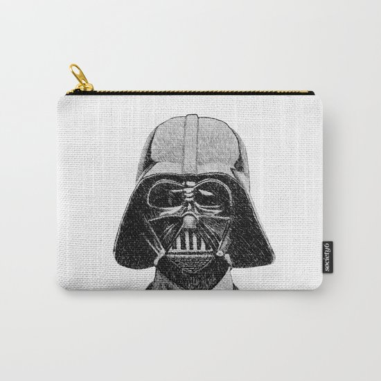 Darth Vader portrait #2 Carry-All Pouch