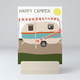 Happy Camper Mini Art Print