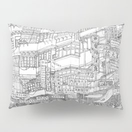 Hong Kong. Kowloon Walled City Pillow Sham