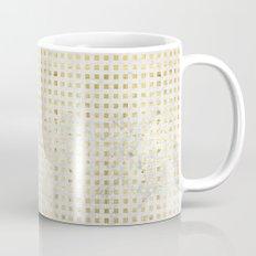 gOld squares Coffee Mug