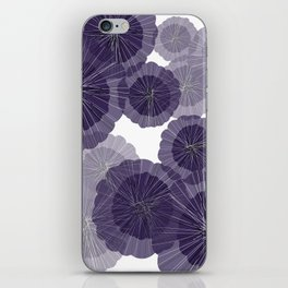 Purple decoration iPhone Skin
