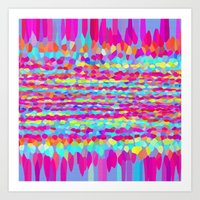 fringe Art Prints featuring Fringe by Mistflower