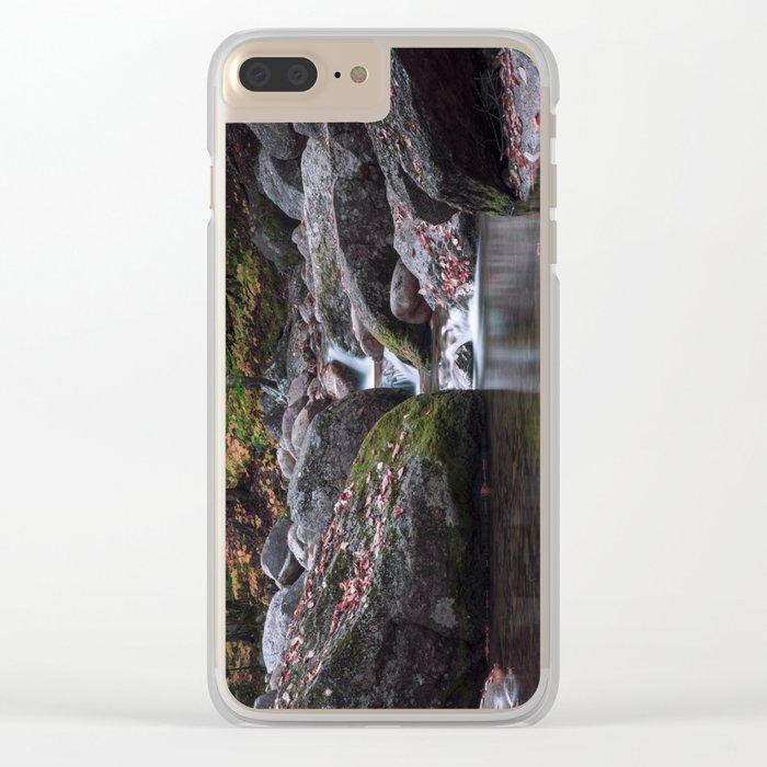 Sabbaday Brook Clear iPhone Case