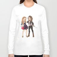 teen wolf Long Sleeve T-shirts featuring Teen Wolf Ladies by Laia™