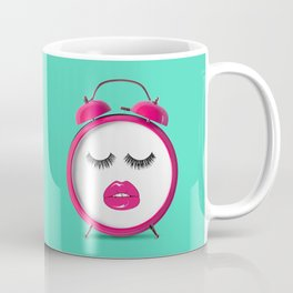 SLEEPY EYES Coffee Mug