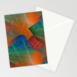 city pattern -3- Stationery Cards