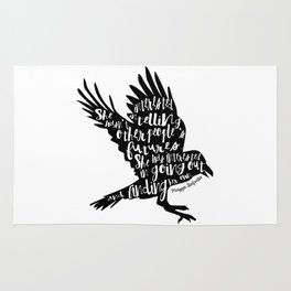 Other People's Futures - The Raven Boys Rug