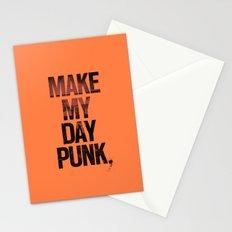 Make my day punk Stationery Cards
