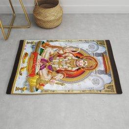 Hindu Hanuman Monkey God 5 Rug