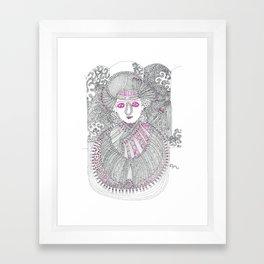 Lady  Master Framed Art Print