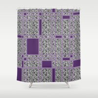 plaid Shower Curtains featuring Plaid-ish by Crayle Vanest