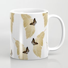 Butterfly & Palm Coffee Mug