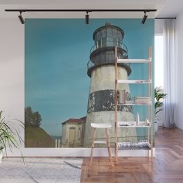 Cape Disappointment Pacific Ocean Washington Northwest Lighthouse Coast Guard Boats Gothic Architect Wall Mural