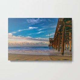 Southside Newport Pier Metal Print