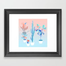 pots Framed Art Print