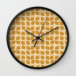 It Is Only Fall Wall Clock