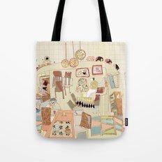 ---garden--cafe--- Tote Bag