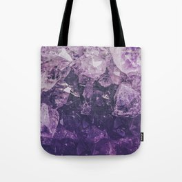 Amethyst Gem Dreams Tote Bag