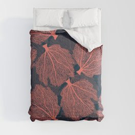 Fan living coral Comforters