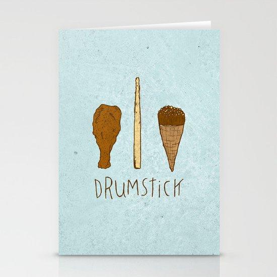 I LIKE DRUMSTICK Stationery Cards