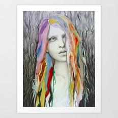 rainbow baby Art Print