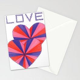 Cross Stitch Love Stationery Cards