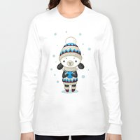 sheep Long Sleeve T-shirts featuring Sheep by Freeminds