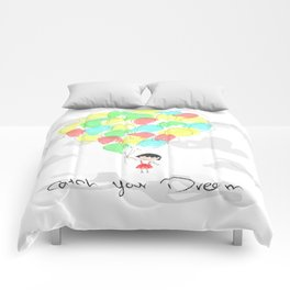 catch your dream Comforters